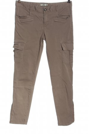 0039 Italy Pantalone cargo marrone stile casual