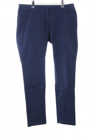 0039 Italy Chinohose blau Casual-Look