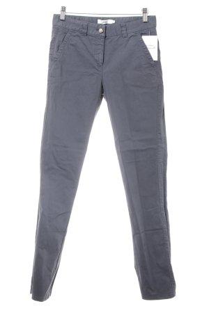 0039 Italy Pantalon chinos gris style décontracté