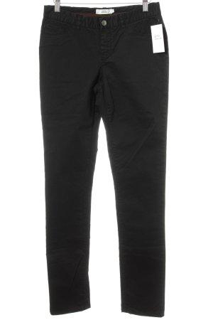 0039 Italy Five-Pocket-Hose schwarz Casual-Look