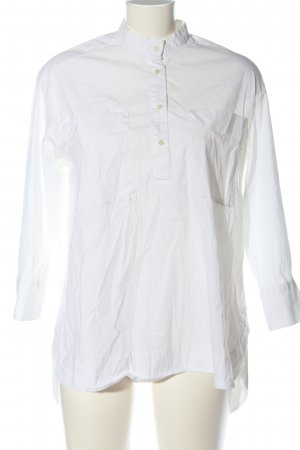 0039 Italy Blusa-camisa blanco estilo «business»