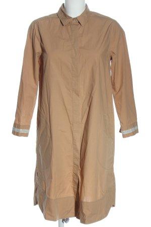 0039 Italy Robe chemise crème style décontracté