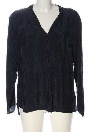 0039 Italy Bluzka z długim rękawem czarny W stylu casual