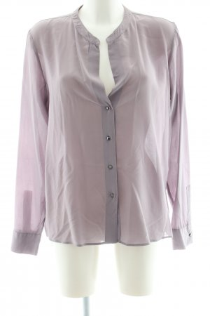 0039 Italy Langarm-Bluse pink Business-Look