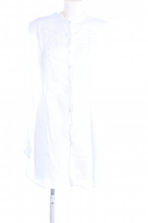 0039 Italy Long Blouse white casual look