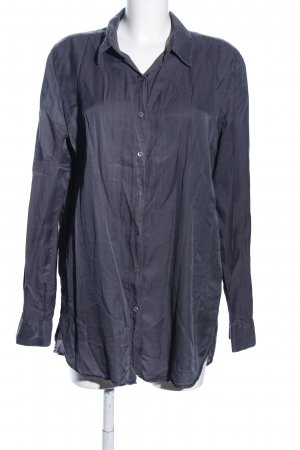 0039 Italy Lange blouse blauw casual uitstraling