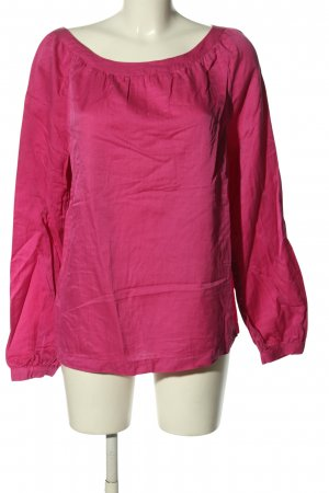 0039 Italy Oversized Bluse pink Casual-Look