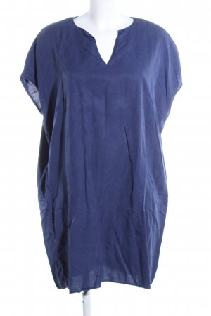 0039 Italy Oversized Blouse blue casual look