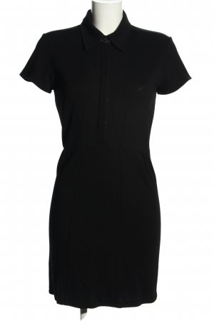0039 Italy Polo Dress black casual look