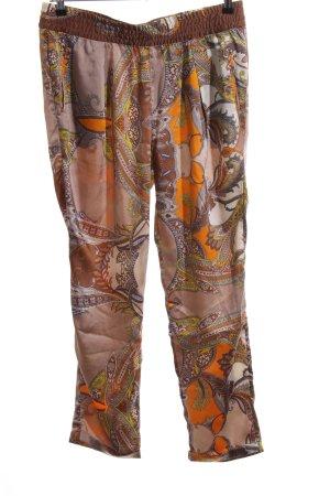 0039 Italy Pantalon large imprimé allover style décontracté