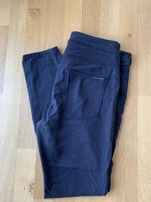 0039 Italy Pantalón de tubo azul