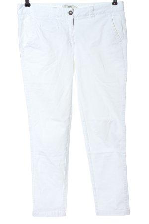 0039 Italy Jeans cigarette blanc style décontracté