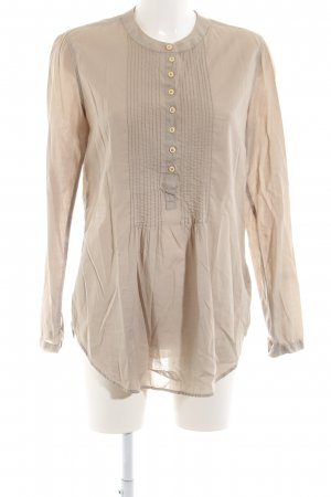 0039 Italy Schlupf-Bluse nude Business-Look