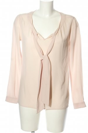 0039 Italy Schluppen-Bluse pink Casual-Look