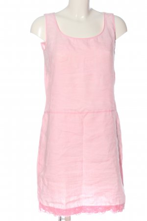 0039 Italy Letnia sukienka różowy W stylu casual