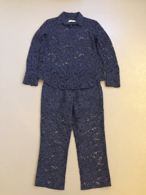 0039 Italy Trouser Suit dark blue