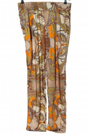0039 Italy Jersey Pants abstract pattern casual look