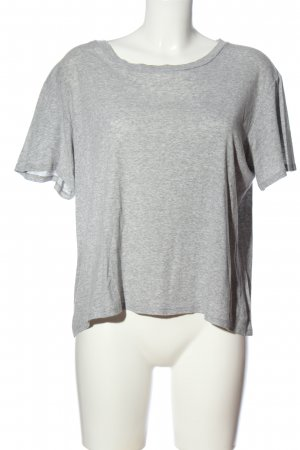 0039 Italy T-Shirt hellgrau meliert Casual-Look