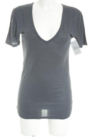0039 Italy T-Shirt graublau Casual-Look