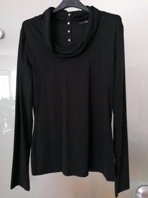 Hugo Boss Camisa de cuello de tortuga negro
