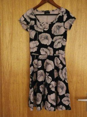C&A Sukienka z krótkim rękawem czarny-nude