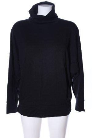 1--01 Babaton Bluza dresowa czarny W stylu casual