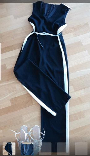 1.2.3 Paris Trouser Suit white-black