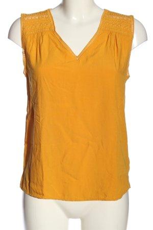 1.2.3 Paris Blusa senza maniche arancione chiaro stile casual