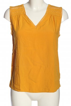 1.2.3 Paris Sleeveless Blouse light orange casual look