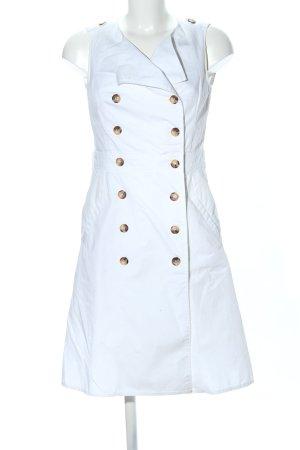 1.2.3 Paris Robe chemisier blanc style décontracté