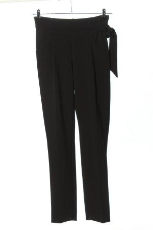 1.2.3 Paris Pantalon à pinces noir style décontracté