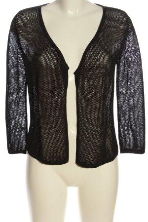 1.2.3 Paris Cardigan schwarz extravaganter Stil