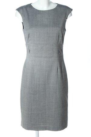 1.2.3 Paris Robe fourreau gris clair Motif de tissage style d'affaires