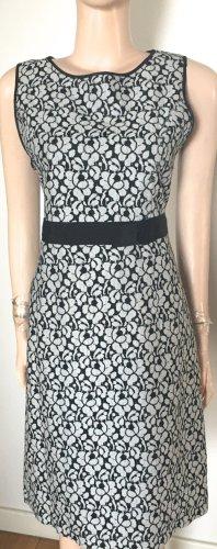 1.2.3 Paris Sheath Dress black-light grey mixture fibre