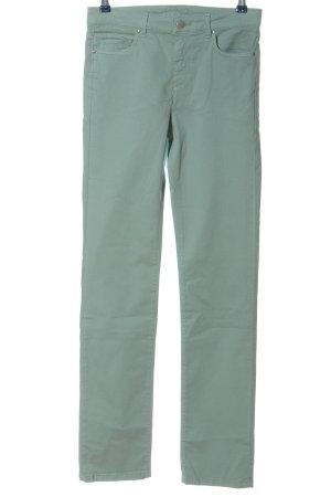 1.2.3 Paris Pantalon cinq poches kaki style décontracté