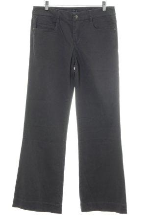 1.2.3 Paris Pantalon cinq poches gris anthracite style décontracté
