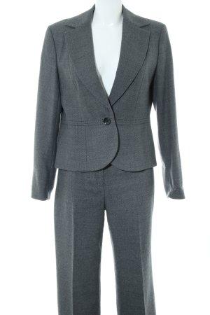 1.2.3 Paris Trouser Suit light grey flecked business style