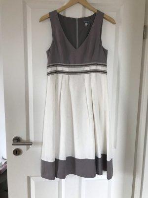 1 2 3 Paris Kleid in weiß und braun super Zustand