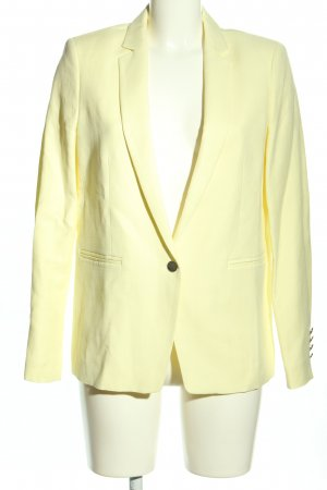 1.2.3 Paris Blazer corto amarillo pálido estilo «business»