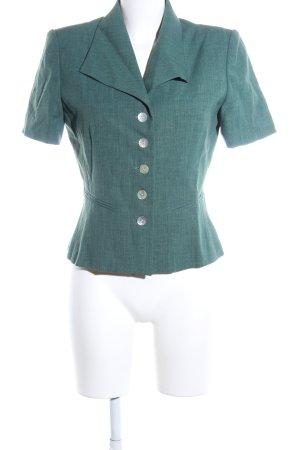 1.2.3 Paris Short Blazer turquoise flecked vintage look