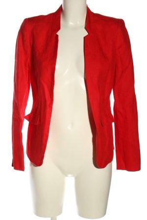 1.2.3 Paris Krótka marynarka czerwony W stylu biznesowym