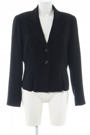 1.2.3 Paris Kurz-Blazer schwarz Business-Look