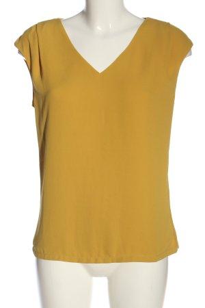 1.2.3 Paris Camicetta a maniche corte giallo pallido stile casual