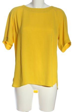 1.2.3 Paris Kurzarm-Bluse blassgelb Casual-Look