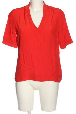 1.2.3 Paris Kurzarm-Bluse rot Casual-Look