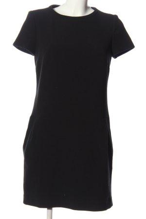 1.2.3 Paris Vestido de manga corta negro look casual