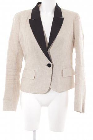 1.2.3 Paris Long-Blazer beige-schwarz Beach-Look