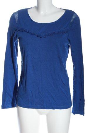 1.2.3 Paris Koszulka z długim rękawem niebieski W stylu casual