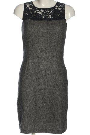 1.2.3 Paris Sukienka midi jasnoszary-czarny Melanżowy W stylu casual