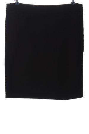 1.2.3 Paris Falda midi negro look casual